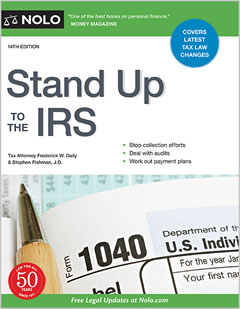 How to fight the IRS, avoid audits, stop collections etc.